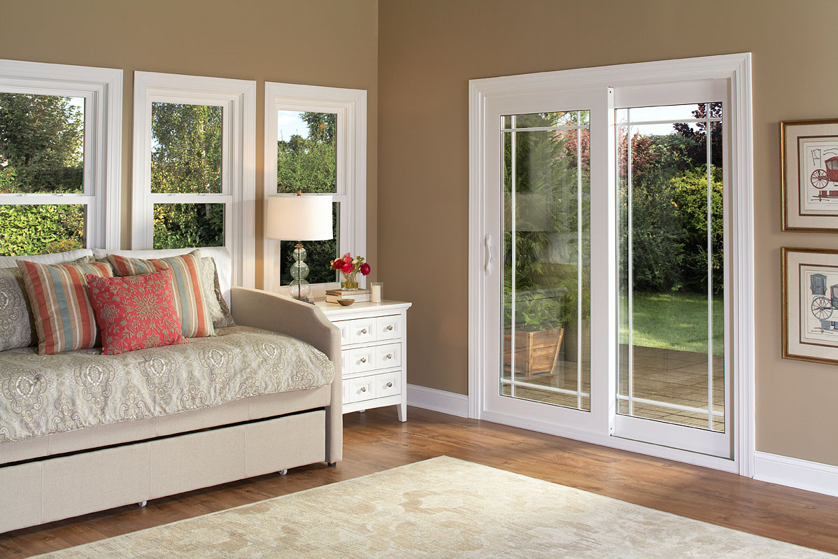 Classic Patio Door with Prairie Grids & Patio Doors Patio Doors Installation NY : Window World of Syracuse